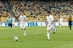 """€ """"Young Boys de Kyiv do dínamo do fósforo de futebol da liga dos campeões, julho Imagens de Stock"""