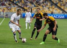 """€ """"Young Boys de Kyiv do dínamo do fósforo de futebol da liga dos campeões, julho Foto de Stock"""