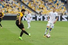 """€ """"Young Boys, julio de Kyiv del dínamo del partido de fútbol de la liga de los campeones Foto de archivo"""