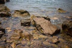 †‹â€ ‹亚洲†‹â€ ‹美丽的海岩石和海  库存照片