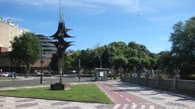†‹â€ ‹旅游区市布尔戈斯,西班牙 图库摄影