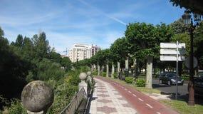 †‹â€ ‹旅游区市布尔戈斯,西班牙 库存图片