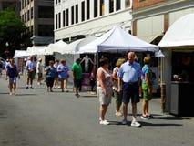 """€ anual """"Roanoke, VA de Art Show de la acera Foto de archivo libre de regalías"""