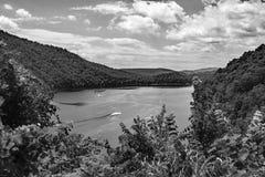 € «Bath County Moomaw озера, Вирджиния, США Стоковое Фото