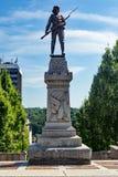 € confédéré «Lynchburg, la Virginie, Etats-Unis de statue Photo libre de droits