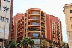 € de FIGUERES, ESPAGNE «le 17 juillet 2013 : Bâtiment moderne à Figueres, Photographie stock