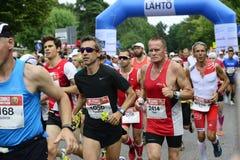 """€ de HELSÍNQUIA, FINLANDIA """"12 de agosto de 2017: Maratona da cidade de Helsínquia, 1 Fotos de Stock Royalty Free"""