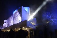 "€ de HELSÍNQUIA, FINLANDIA ""31 de dezembro de 2016: 100 anos de independen Foto de Stock"
