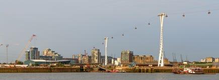 € de Londres, Royaume-Uni «17 août : Gondoles d'air au-dessus de rivière Tham Photos libres de droits