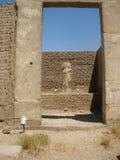 """€ de Luxor Temple"""" las ruinas del templo central del Amun-RA imágenes de archivo libres de regalías"""