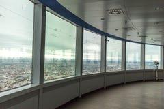 """€ de MUNICH """"o 30 de janeiro: Munich Olympia Tower Interior O olímpico imagens de stock royalty free"""