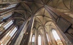 """€ de Nuremberg, Alemanha """"30 de dezembro de 2016: Igreja do St Sebaldus Imagem de Stock"""
