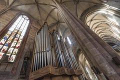 € de Nuremberg, Allemagne «le 30 décembre 2016 : Église de St Sebaldus Photographie stock