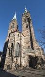 € de Nuremberg, Allemagne «le 30 décembre 2016 : Église de St Sebaldus Images libres de droits