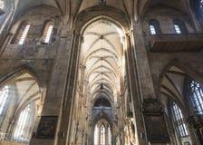 € de Nuremberg, Allemagne «le 30 décembre 2016 : Église de St Sebaldus Image stock