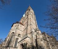 € de Nuremberg, Allemagne «le 30 décembre 2016 : Église de St Sebaldus Photo stock