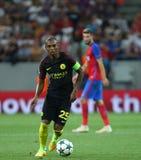 € de QUALIFICATION de LIGUE de CHAMPIONS d'UEFA «STEAUA BUCAREST contre Manchester City photos stock