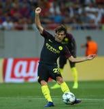 € de QUALIFICATION de LIGUE de CHAMPIONS d'UEFA «STEAUA BUCAREST contre Manchester City photo libre de droits