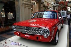"""€ di Mosca, RUSSIA """"12 settembre: Mostra delle automobili d'annata rare in GOMMA il 4 settembre 2014 Fotografie Stock Libere da Diritti"""