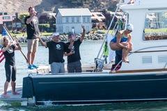 """€ di SAN FRANCISCO """"6 settembre 2015: La Grace van der Byl comincia la h Fotografie Stock"""