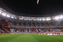 € «DINAMO BUCURESTI ФИНАЛА КУБКА ROMANIA'S против CFR Cluj Стоковое Изображение RF