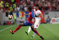 € « Dinamo Bucuresti de Romania's Liga 1†« Steaua Bucuresti du football Photographie stock libre de droits