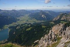 """€ el """"Tirol - Austria de Haldensee Imágenes de archivo libres de regalías"""