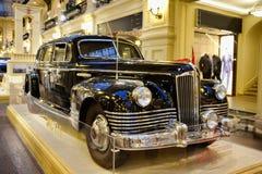 """€ 1949 för limousine ZIS-115 för Joseph Stalin ` s bepansrad """"Front Angle Arkivbild"""