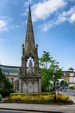 € «Harrogate статуи ферзя Виктории, Великобритания Стоковое фото RF