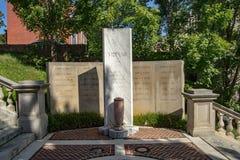 € «Lynchburg, la Virginie, Etats-Unis de monument de guerre de Vietnam Photos stock