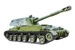 152†` mm自走短程高射炮2S3 免版税库存图片