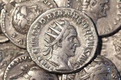 """€ romano """"Traiano Decio Antoninianus della moneta Immagine Stock Libera da Diritti"""