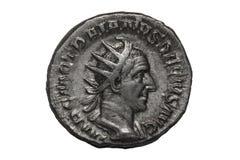"""€ romano """"Traiano Decio Antoninianus della moneta Fotografie Stock Libere da Diritti"""