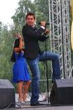 € Stanislav Piatrasovich Piekha (Stas Piekha)» русские популярные певица и актер, и внук Edita Piekha стоковая фотография