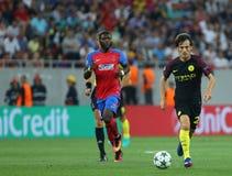 """€ """"STEAUA BUCHAREST för KVALIFIKATION för LIGA för UEFA-MÄSTARE vs Manchester City royaltyfri fotografi"""