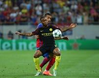 """€ """"STEAUA BUCHAREST för KVALIFIKATION för LIGA för UEFA-MÄSTARE vs Manchester City royaltyfria foton"""