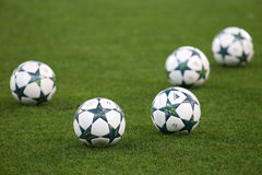 """€ """"STEAUA BUCHAREST för KVALIFIKATION för LIGA för UEFA-MÄSTARE vs Manchester City arkivfoto"""