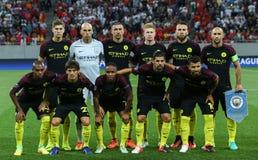 """€ """"STEAUA BUCHAREST för KVALIFIKATION för LIGA för UEFA-MÄSTARE vs Manchester City royaltyfri foto"""
