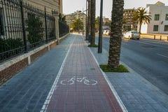 "€ Streetin Valencia"" Stadt in Spanien, Kapital der autonomen Co lizenzfreie stockfotografie"