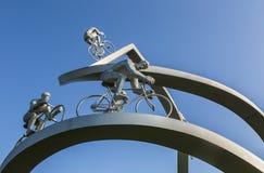 † tour de france w Pyrenees† rzeźby szczególe zdjęcia royalty free