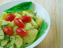 "€ turco ""Patates Salatası da salada de batata foto de stock"