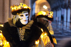 € «Venezia - masque jaune de l'Italie Images stock