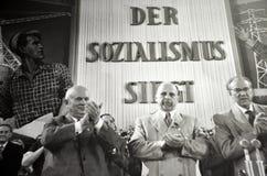 """""""社会主义是victorious"""" 免版税图库摄影"""