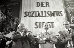 """""""socialism är victorious"""", Royaltyfri Fotografi"""