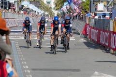 98°环意自行车赛 免版税库存图片