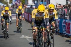 98°环意自行车赛 免版税库存照片