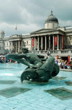 1 da fonte de Londres Fotografia de Stock