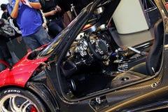 2011 da mostra de motor de Genebra Pagani Huayra Fotos de Stock Royalty Free