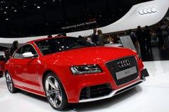 2011 de la demostración de motor de Ginebra Audi RS5 Fotografía de archivo