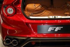 2011 de la demostración de motor de Ginebra Ferrari FF Fotografía de archivo libre de regalías
